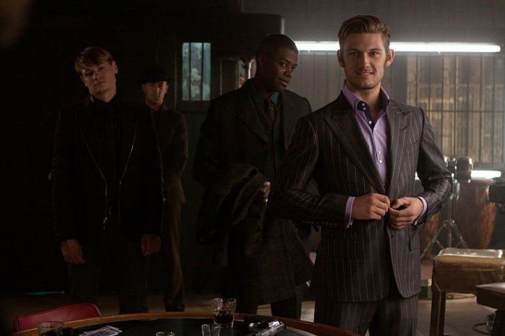 Alex Pettyfer nel film 'In Time'