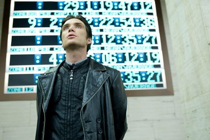 Cillian Murphy nel film In Time