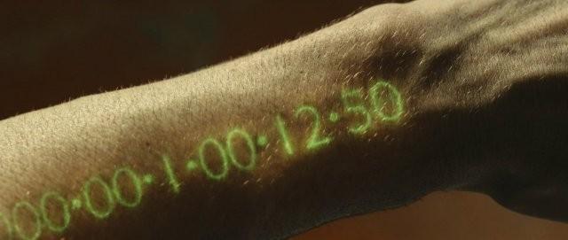 In Time: il tempo che resta visualizzato sul braccio