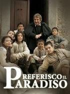 Locandina mini serie tv PREFERISCO IL PARADISO con Proietti e Braidotti