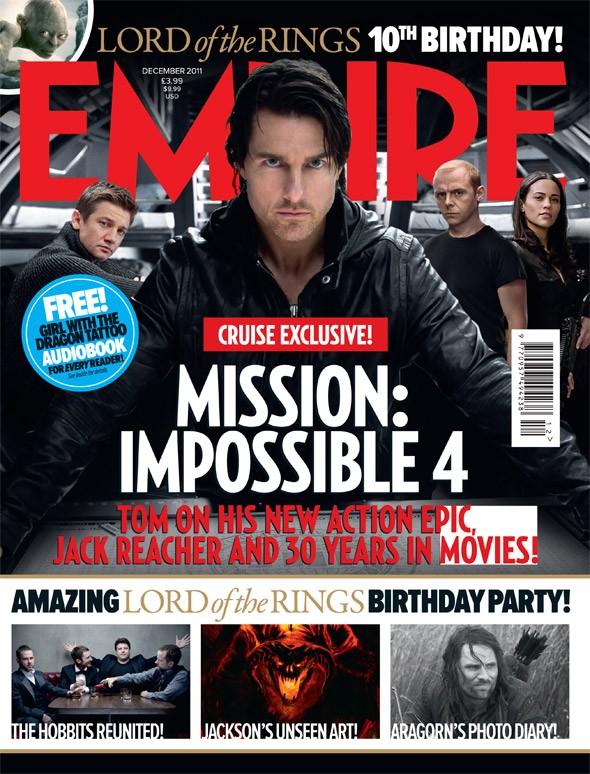 Mission: Impossible - Ghost Protocol: ecco la copertina dedicata al film da Empire