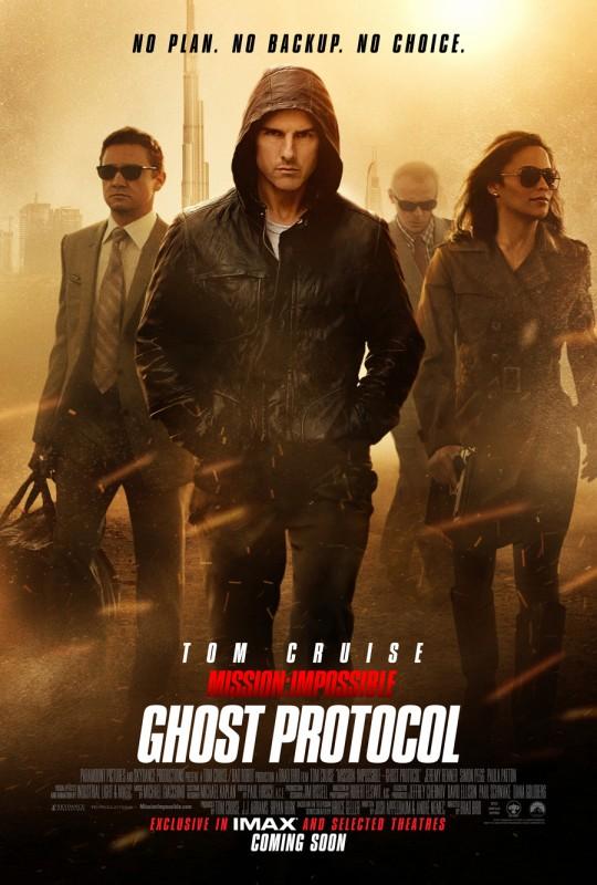 Mission: Impossible - Protocollo Fantasma: ecco la nuova locandina con tutti i personaggi