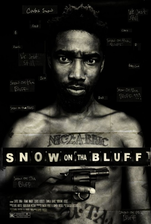 Snow on Tha Bluff: la locandina del film