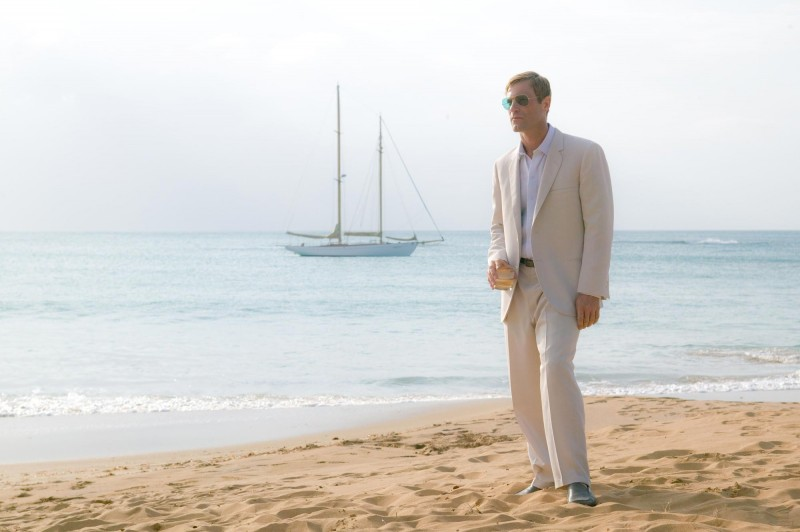 The Rum Diary: Aaron Eckhart in una sequenza