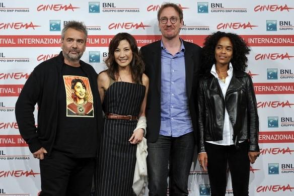 Luc Besson, Michelle Yeoh, David Thewlis e Virginie Besson-SIlla presentano The Lady al Festival di Roma