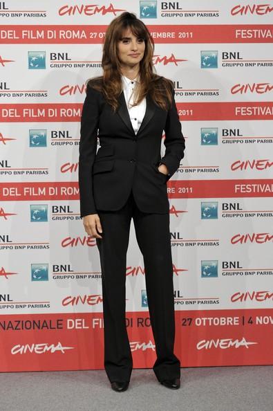 Penelope Cruz al Festival di Roma 2011 durante l'incontro stampa per Venuto al Mondo