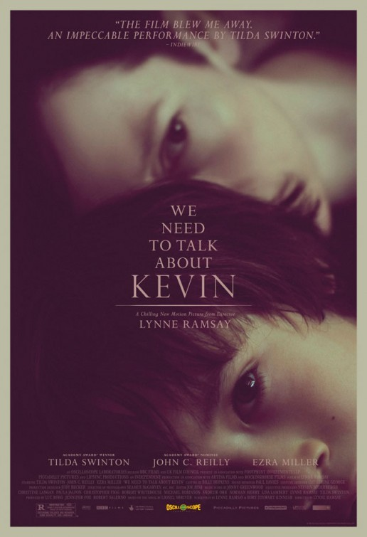 We Need To Talk About Kevin: poster USA