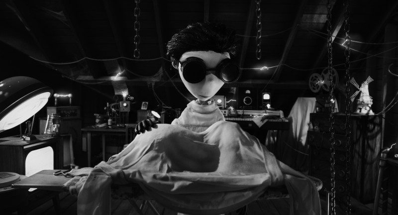 Frankenweenie di Tim Burton: una scena del film