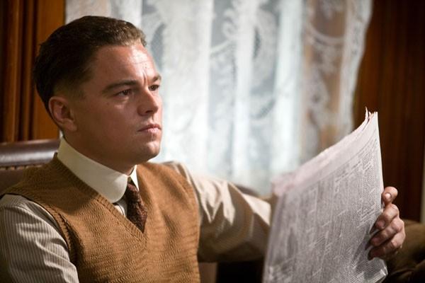 Leonardo DiCaprio nei panni di J. Edgar Hoover