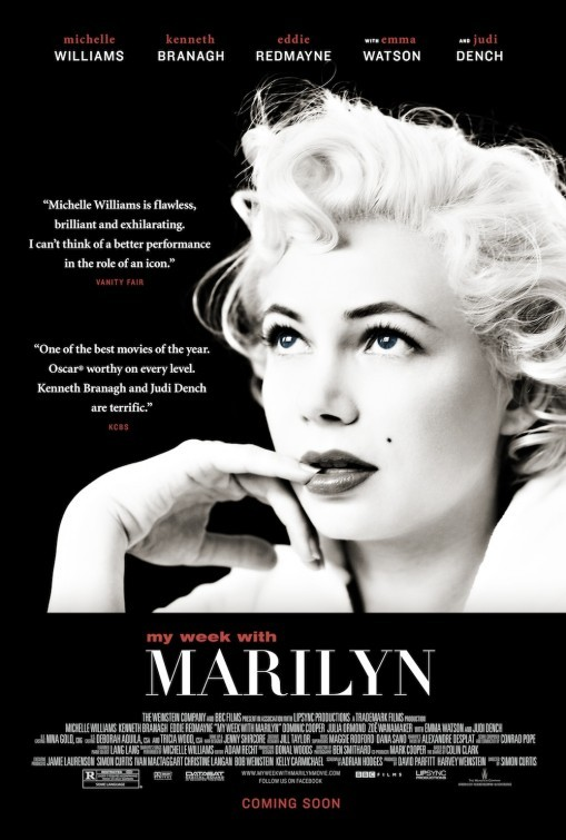My Week With Marilyn: nuovo poster USA