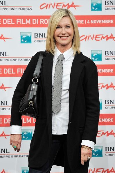 Olivia Newton-John a Roma 2011 per presentare A Few Best Men