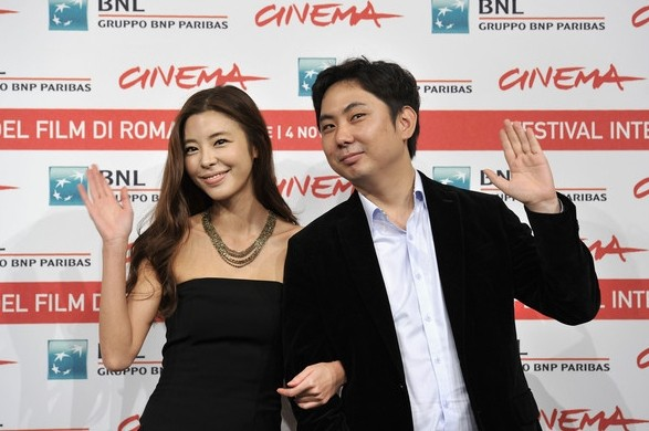 Roma 2011: il regista Juhn Jaihong e l'interprete Kim Gyu-ri presentano Poongsan