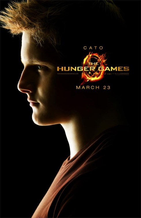 The Hunger Games: Character Poster per Cato/Alexander Ludwig