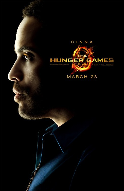 The Hunger Games: Character Poster per Cinna/Lenny Kravitz