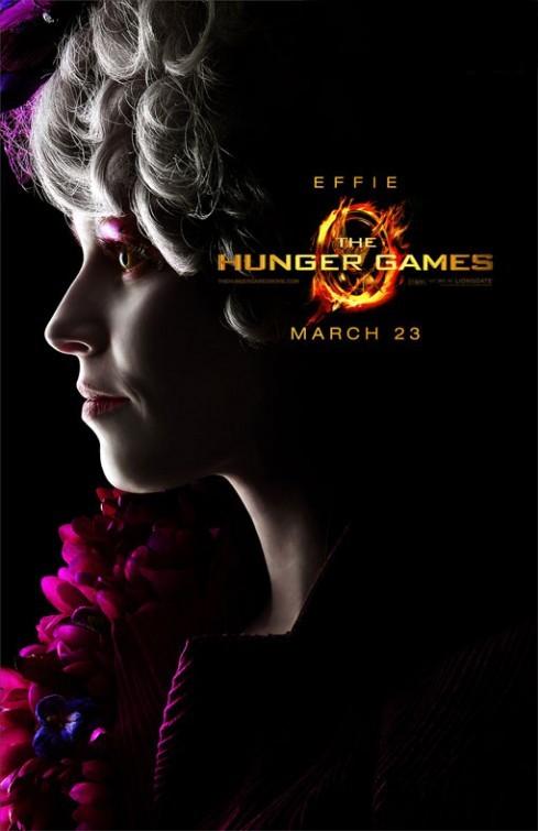 The Hunger Games: Character Poster per Effie/Elizabeth Banks