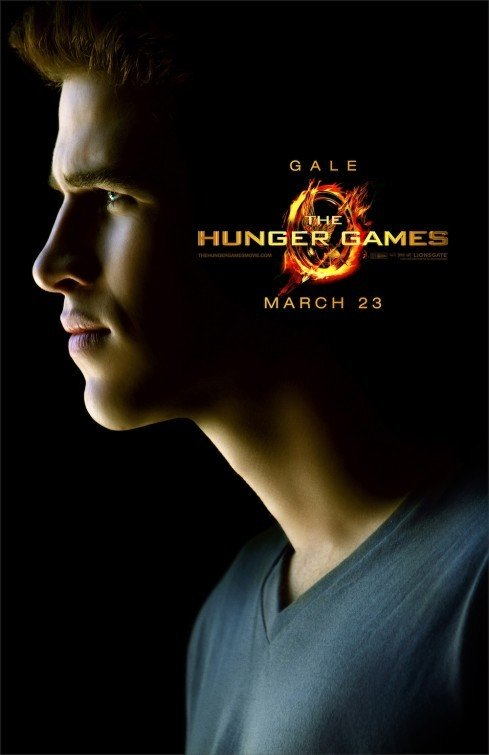 The Hunger Games: Character Poster per Gale /Liam Hemsworth