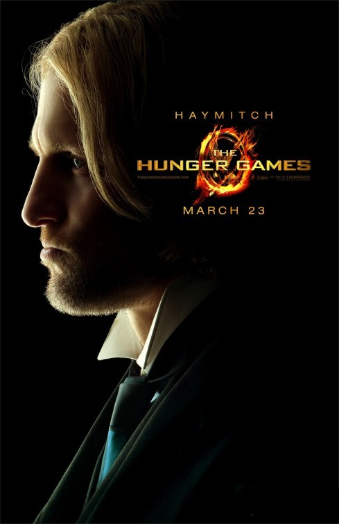 The Hunger Games: Character Poster per Haymitch/Woody Harrelson