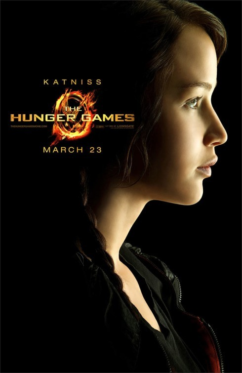 The Hunger Games: Character Poster per Katniss /Jennifer Lawrence