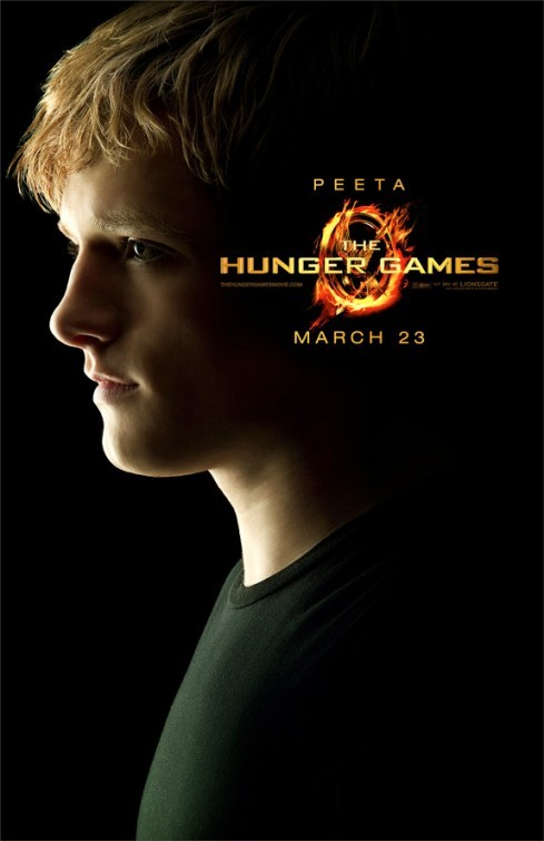 The Hunger Games: Character Poster per Peeta /Josh Hutcherson