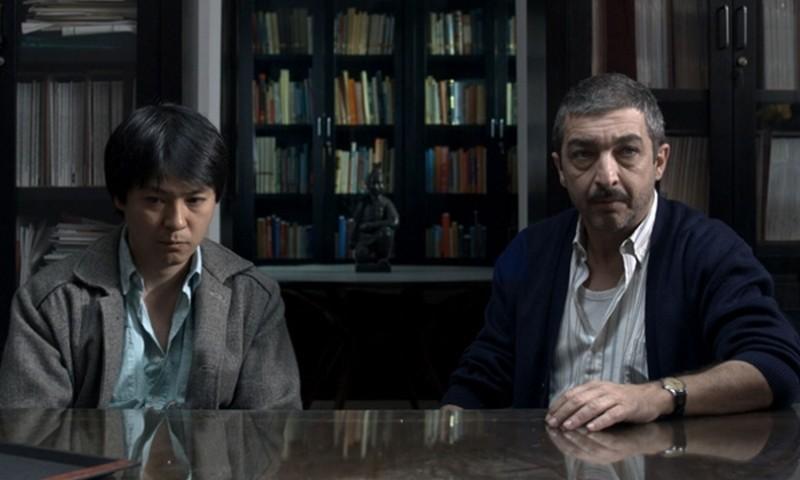 Un cuento chino, Ignacio Huang e Ricardo Darìn in una scena del film