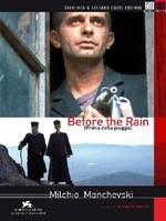 La copertina di Prima della pioggia (dvd)