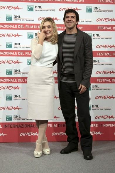 Pierfrancesco Favino e Carolina Crescentini: a Roma 2011 le star de L'industriale