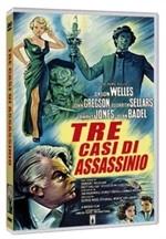 La copertina di Tre casi di assassinio (dvd)
