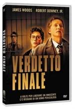 La copertina di Verdetto finale (dvd)