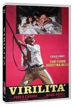 La copertina di Virilità (dvd)