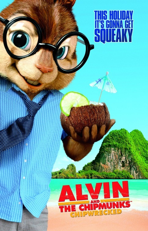 Alvin and the Chipmunks: Chip-Wrecked: Character Poster 3