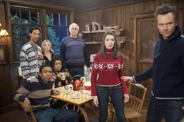 Community: una scena dell'episodio Horror Fiction in Seven Spooky Steps