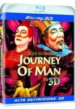 La copertina di Cirque du Soleil - Journey of man in 3D (blu-ray)