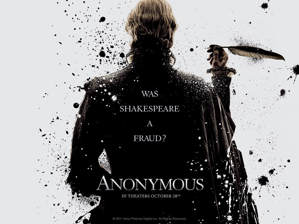 Anonymous, un wallpaper del film