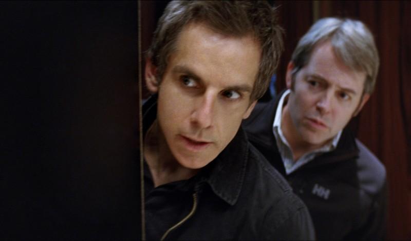 Ben Stiller in una scena di Tower Heist: Colpo ad alto livello insieme a Matthew Broderick