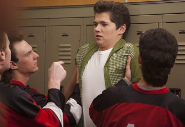 Glee: Damian McGinty in una scena dell'episodio Pot O' Gold
