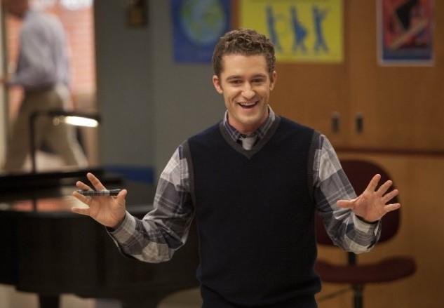 Glee: Matthew Morrison in una scena dell'episodio Pot O' Gold