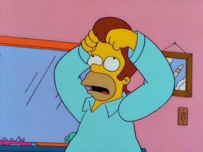 I Simpson: una scena de La paura fa novanta - stagione 10