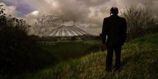 Orfeo Orlando, nella scena finale di Krokodyle di Stefano Bessoni