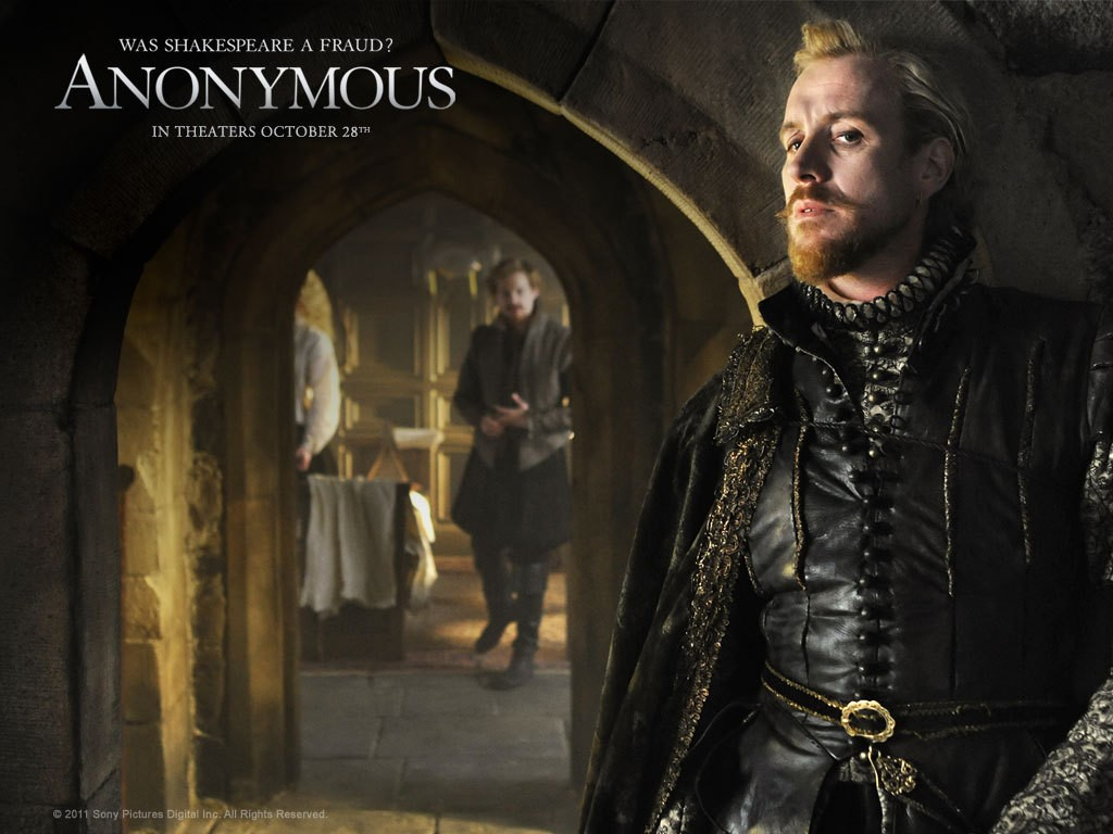 Rhys Ifans in un character wallpaper del film Anonymous