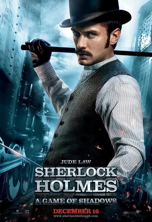 Sherlock Holmes 2: nuovo Character poster per Jude Law (Watson)