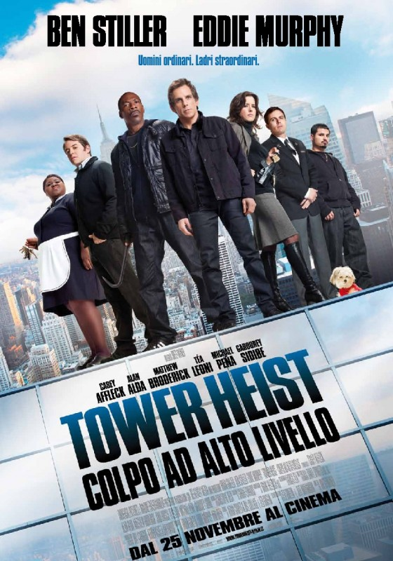 Tower Heist: la locandina italiana del film