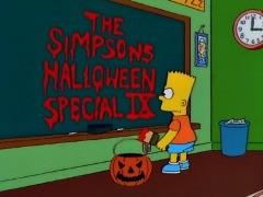 Una scena dell'episodio La paura fa novanta IX de I Simpson