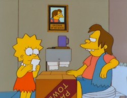 Una sequenza di Lisa dieci e lode de I Simpson