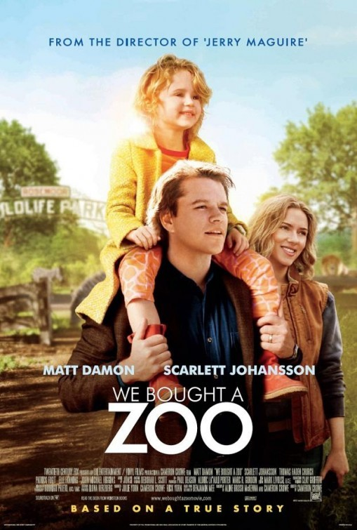 We Bought a Zoo: nuovo poster USA