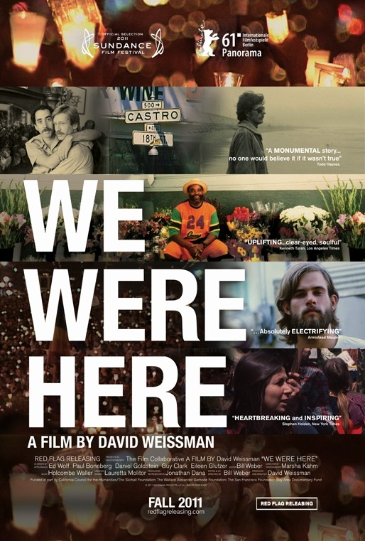 We Were Here: poster del documentario dedicato alla diffusione dell'AIDS a San Francisco