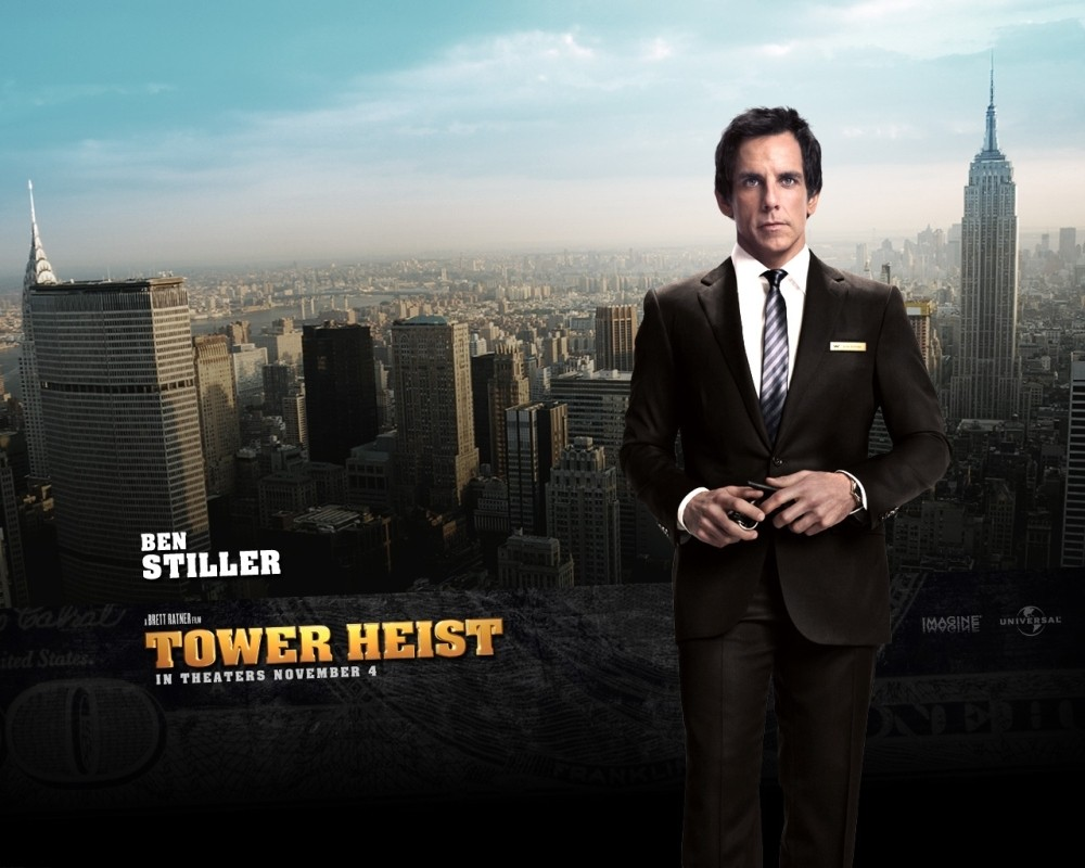 Ben Stiller in uno dei character wallpaper del film Tower Heist: Colpo ad alto livello