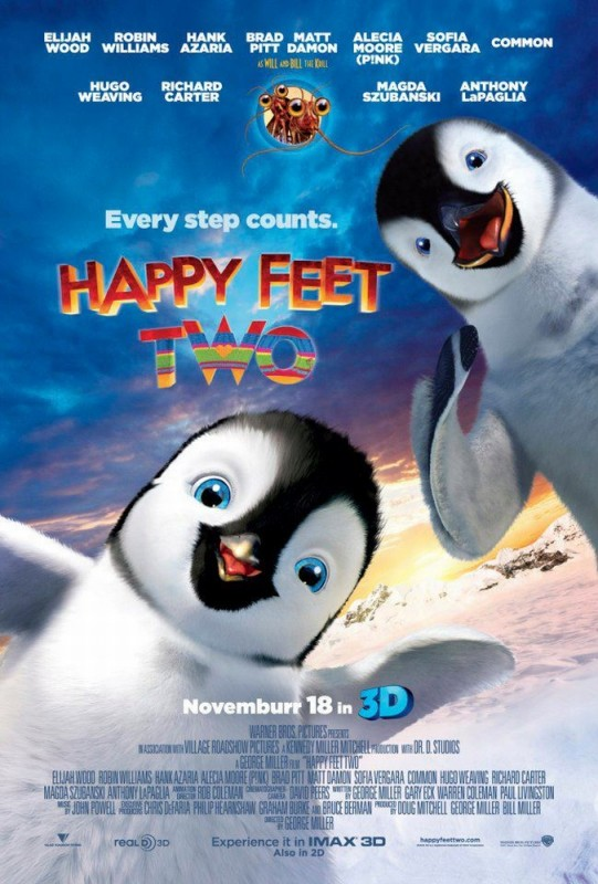 Happy Feet 2 in 3D: un nuovo poster del film