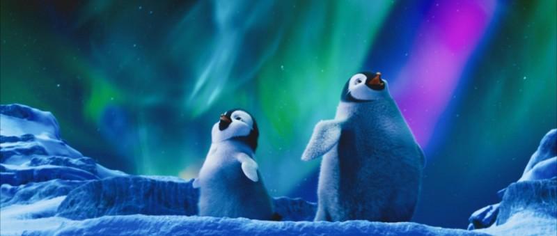 Happy Feet 2 in 3D: una scena canterina del film diretto da George Miller