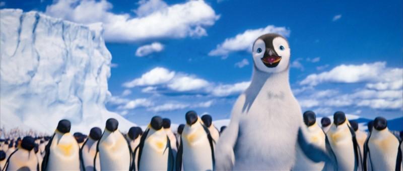 Happy Feet 2 in 3D, una scena del film d'animazione targato Warner Bros.