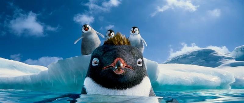 Happy Feet 2 in 3D, una simpatica scena tratta dal film